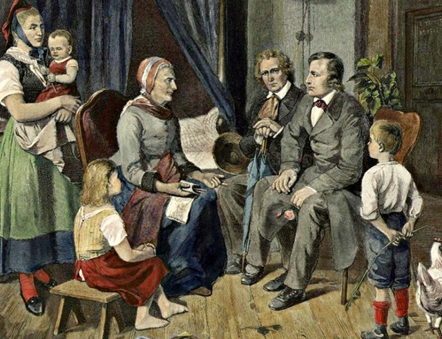 A Grimm fivéreket világszerte ismerjük, még is vannak olyanok, akik nem tudnak róluk mást, csak azt, hogy meseírók voltak. Tulajdonképpen azok is voltak. Nos, a Grimm testvérek kezdetben könyvtárosok voltak a Királyi Könyvtárban, itt kezdték fiatalon a pályafutásukat. Rengeteg mindent tanulmányoztak, többek között a nyelvészet területén is kiemelkedő sikereket értek el.